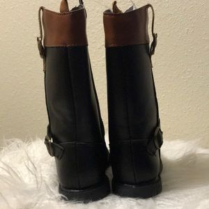 Carter's Shoes - Carters black and brown boots size 7